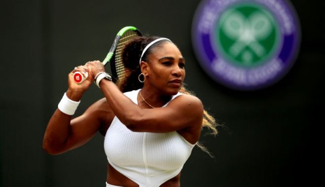 Foto: Serena Williams a primit o amendă IMENSĂ la Wimbledon. Iată motivul