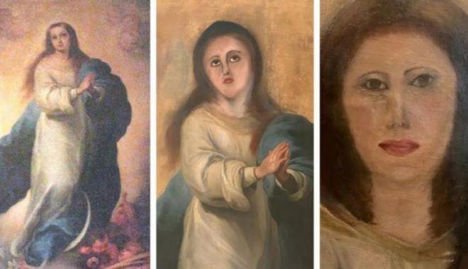 Operă de artă de nerecunoscut după o restaurare marcată de amatorism - 1-1592932112.jpg