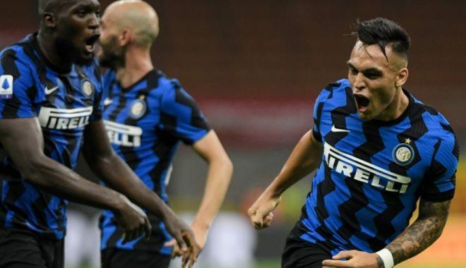 Foto: Inter Milano s-a calificat fără probleme în finala Europa League la fotbal