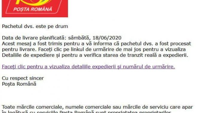 Campanii false pe internet în numele Poștei Române - 1-1597849395.jpg