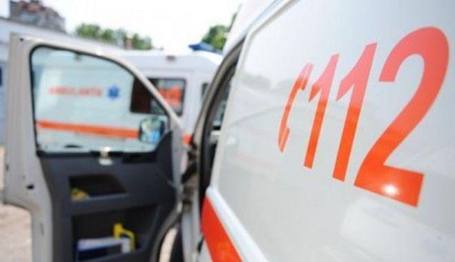 Foto: Accident, provocat de un șofer beat în Mangalia