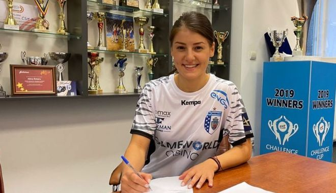 Handbal / Alexandra Dindiligan a semnat cu CSM Bucureşti - 1-1631713743.jpg