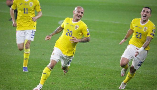 Fotbal, echipa naţională / România a învins Armenia şi a urcat pe locul doi în Grupa J - 1-1634017708.jpg