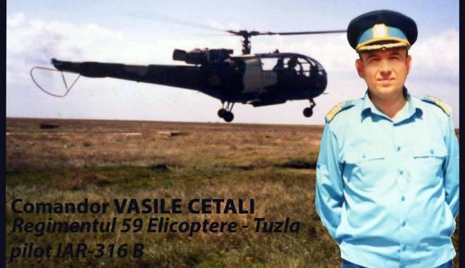 Foto: DOLIU ÎN AVIAȚIE! A încetat din viață comandorul Vasile Cetali