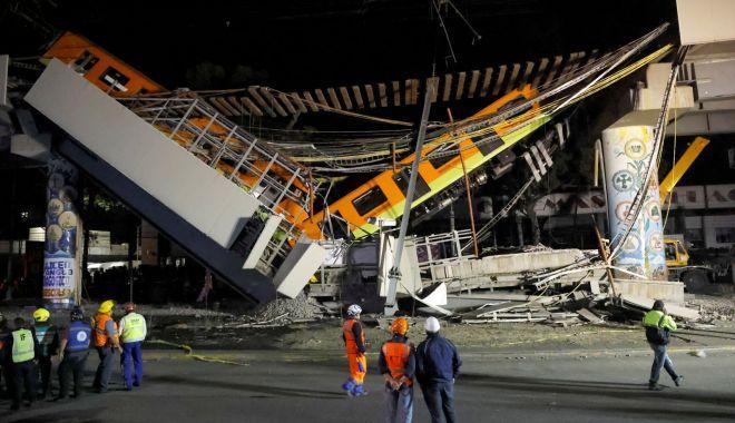 VIDEO. Pod prăbuşit pe o linie de metrou în Mexic: 20 morţi şi 49 de persoane spitalizate - 20210504t073427z913752293rc2v8n9-1620116269.jpg