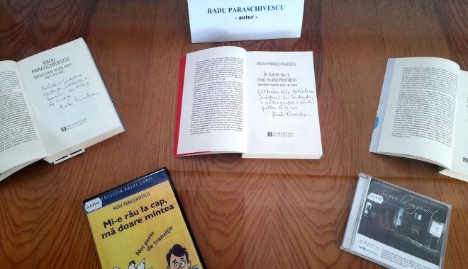 Expoziție de carte și presă în holul Bibliotecii Județene - 22082409647196104714002825041953-1626777809.jpg