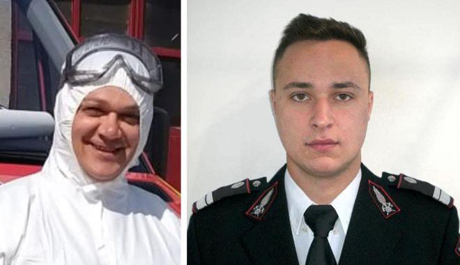 Un șofer a făcut infarct la volan, la Satu Nou. Doi pompieri i-au acordat primul ajutor - 22febrpompierisalvatori1-1613993040.jpg