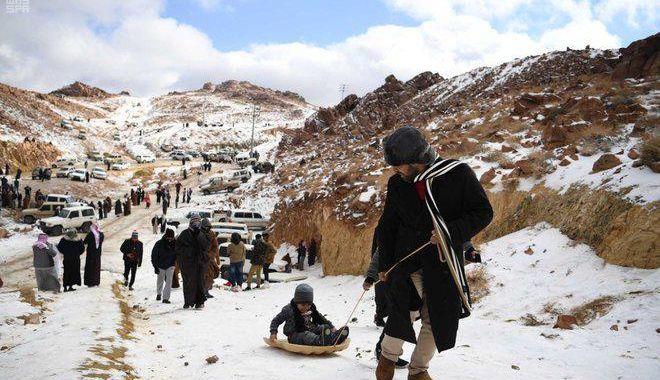 Fenomen rar: ninge în deșert! VEZI IMAGINI! - 3-1578907976.jpg