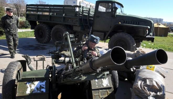 Foto: Separatiștii au doborât un avion al armatei ucrainene