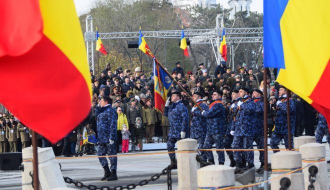Foto: Două evenimente importante din istoria românilor, marcate de militarii din Forțele Navale