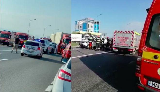 Doi bărbați și două femei au murit într-un SUV, care s-a izbit violent de un TIR - acc-1627022226.jpg