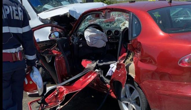 Accident la intrare în Cumpăna. O femeie a fost rănită - accident-1626454162.jpg