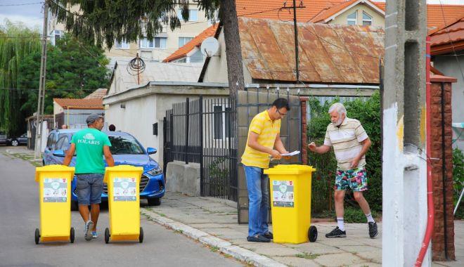 """Foto: Primăria Constanţa continuă """"operațiunea pubela"""""""