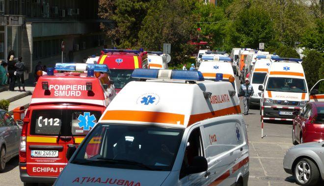 Foto: Anchetă la Constanța: un angajat al Spitalului Județean ar fi mers la muncă deși era deja confirmat cu COVID 19