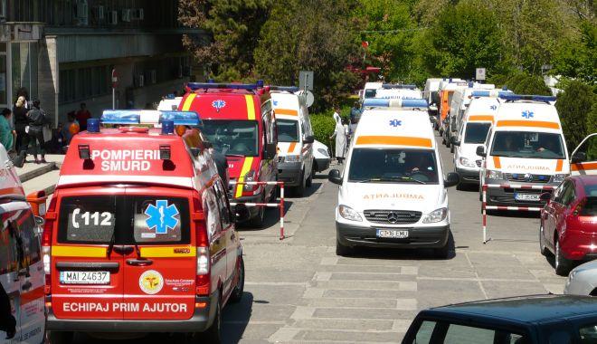 Foto: VIDEO / PROTEST LA AMBULANȚĂ! Ce nemulțumiri i-au scos în stradă!
