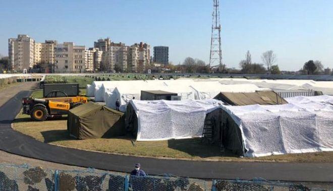 """Foto: Aparatură medicală modernă, la spitalul militar de pe stadionul """"Portul"""""""