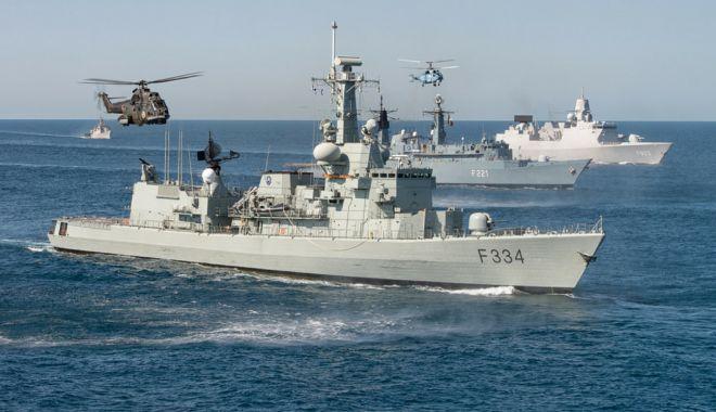 Foto: Apărarea la Marea Neagră. Declarații ministru Mihai Fifor