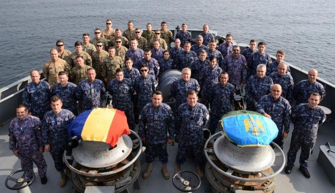 """Foto: Au găsit minele marine! NMH """"Cătuneanu"""", misiune îndeplinită"""