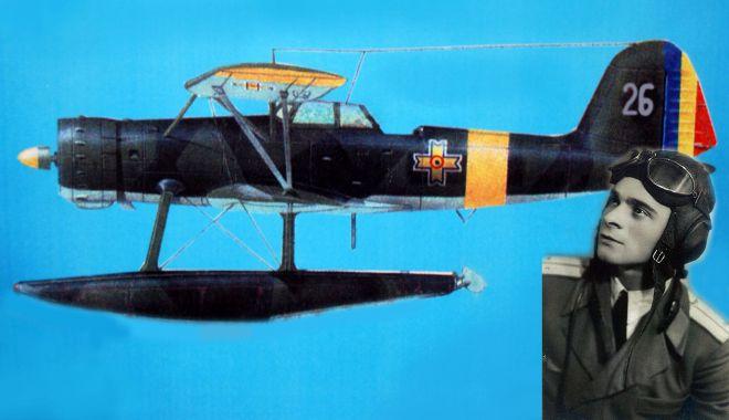 Foto: Aventurile pilotului Ciobanu! Amerizare forțată pe lacul Siutghiol