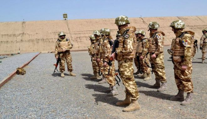 Foto: PREMIERĂ! Militarii din cadrul Regimentului 307 Infanterie Marină de la Babadag, misiune în Afganistan