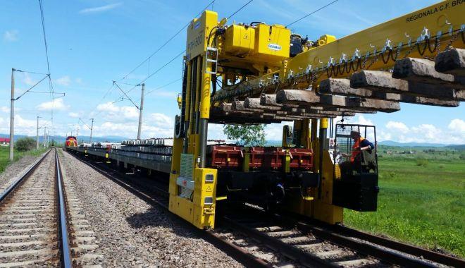 CFR cumpără sisteme de trenuri de lucru pentru a reface infrastructura feroviară - cfrcumparasistemedetrenuri-1620052489.jpg