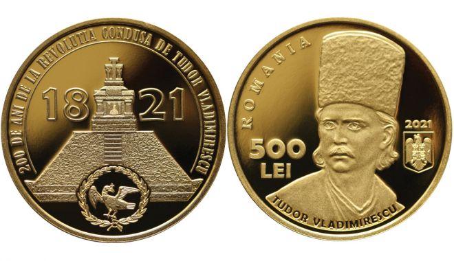 Emisiune numismatică dedicată Revoluției din 1821, condusă de Tudor Vladimirescu - cmykemisiunenumismaticadedicatar-1617808667.jpg
