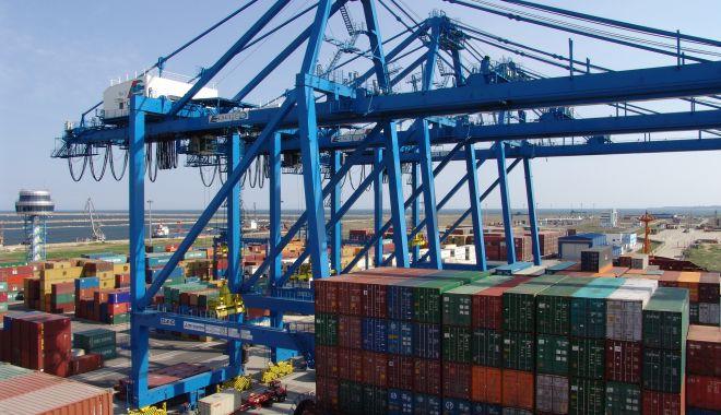 Foto: Conducerea terminalului DP World din portul Constanța a stârnit furia sindicatelor