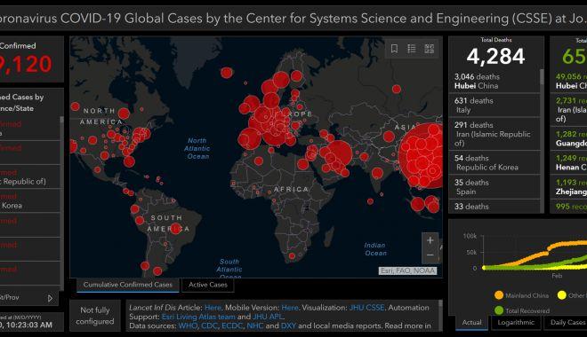 Foto: Focarul de coronavirus a ajuns la nivelul unei pandemii globale!