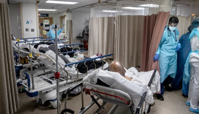 COVID-19. Record uriaş de cazuri noi, în 24 de ore - covidspital-1603970659.jpg