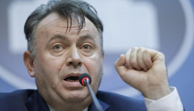 Foto: Ministrul Sănătății, Nelu Tătaru: CONSTANȚA ȘI BRAȘOV, NOI FOCARE DE CORONAVIRUS