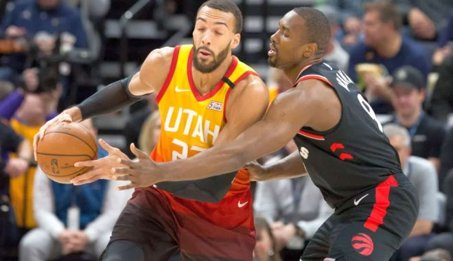 Foto: Sezonul NBA, suspendat! Jucător al echipei Utah Jazz, depistat pozitiv la coronavirus