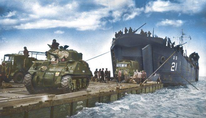 """S-au împlinit 77 de ani de la """"Debarcarea în Normandia"""" - debarcare1-1622990751.jpg"""