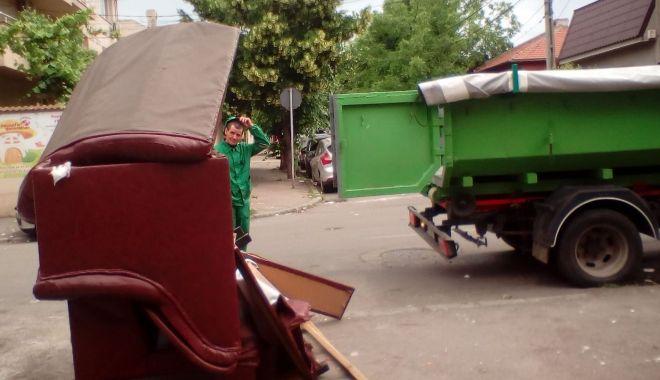 Foto: Deșeurile voluminoase, ridicate gratuit, la Constanța