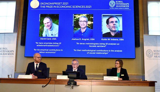 Premiul Nobel pentru economie a fost decernat unui trio de specialişti în economie experimentală - dh5p2eqrkvl5ziqt46bae55k24-1633950556.jpg