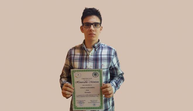 Elev constănţean, admis la Universitatea Cambridge - elevconstantean1-1611859195.jpg