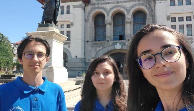 Foto: Trei elevi constănțeni participă la Școala de Vară de Știință și Tehnologie de la Măgurele