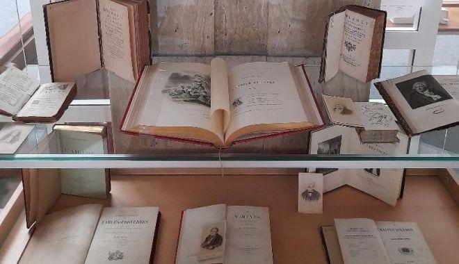 Expoziţie de colecţii speciale din literatura franceză, la Biblioteca Judeţeană Constanţa - expozitie-1627662376.jpg