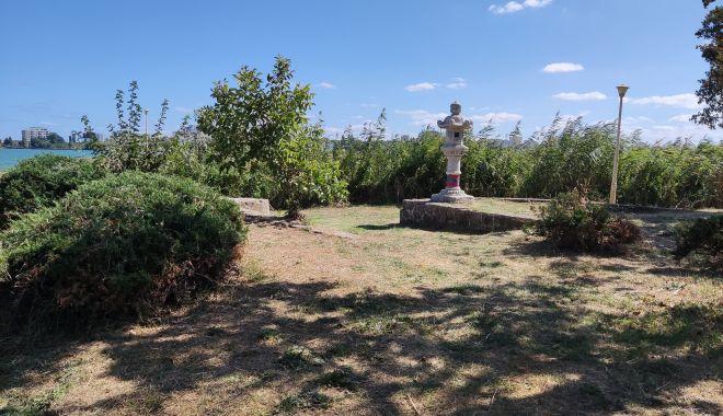 Dezastrul din Parcul Tăbăcărie: de la iarba uscată, la monumente distruse! - fond2-1631553453.jpg