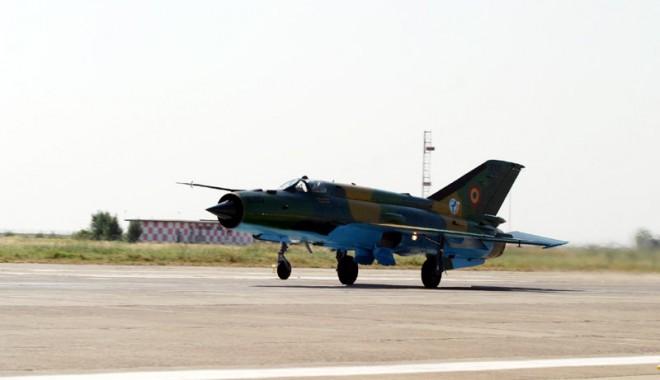 Interceptare cu avion militar deasupra Constanței: