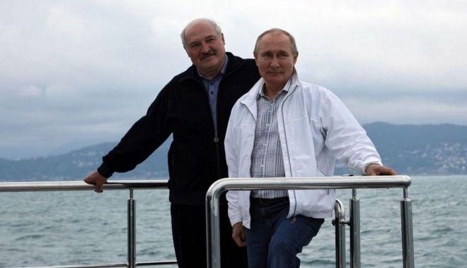 Preşedintele Vladimir Putin l-a asigurat de sprijin său pe Aleksandr Lukaşenko - fondintalnire-1622396457.jpg
