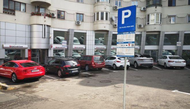 S-a clarificat! Ce trebuie să faci ca să nu plătești primele 30 de minute de parcare în Constanța - fondparcaresms-1623261073.jpg