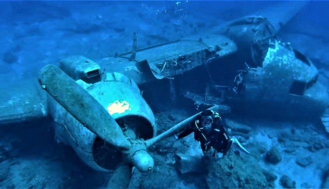 """""""Comorile"""" de pe fundul lacului Siutghiol. """"Hidroavioanele erau atracție pentru turiști!"""" - fondpascale1-1602871397.jpg"""