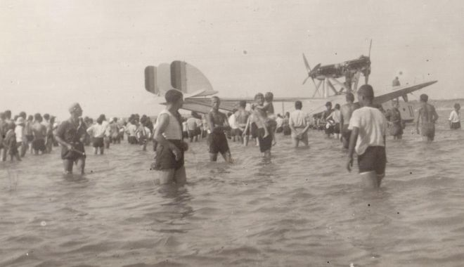 """""""Comorile"""" de pe fundul lacului Siutghiol. """"Hidroavioanele erau atracție pentru turiști!"""" - fondpascalelaculsiutghiolhidroav-1602871444.jpg"""