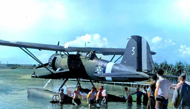 """""""Comorile"""" de pe fundul lacului Siutghiol. """"Hidroavioanele erau atracție pentru turiști!"""" - fondprintpascale5-1602871459.jpg"""