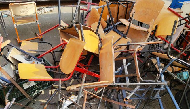 Harababură de nedescris! Tergiversările de pe șantierul Școlii nr. 16 au condus la sacrificarea orarului elevilor - fondscoala4-1631551863.jpg