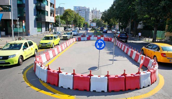 Foto: La loc comanda! Sensul giratoriu de lângă Poliția Constanța, desființat!