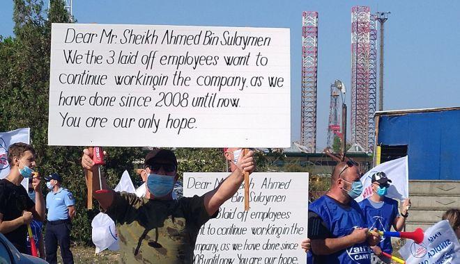 Sindicaliștii protestatari cer demisia conducerii companiei Constanța South Container Terminal - fondsindicalistiiprotestataricer-1600194721.jpg