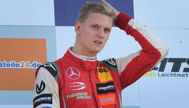 Foto: Așa tată, așa fiu. Mick Schumacher, cel mai rapid în teste la Jerez