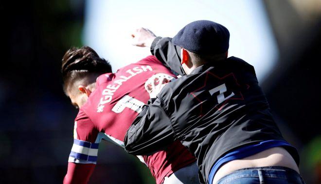 Foto: Jucător din liga secundă, lovit cu pumnul în figură