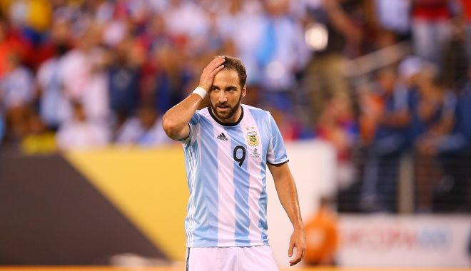 Foto: Gonzalo Higuain s-a retras din naționala Argentinei